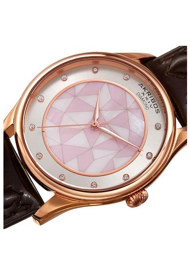 AKRIBOS XXIV Ceas decorat cu 11 diamante Femei