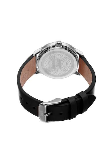 BURGI Часовник с кожена каишка и кристали Жени