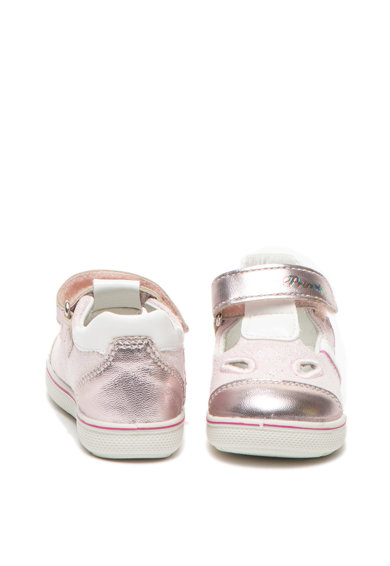 Primigi Кожени спортни обувки с велкро Момичета