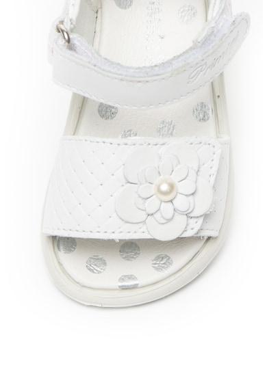 Primigi Кожени сандали с плетен ефект Момичета