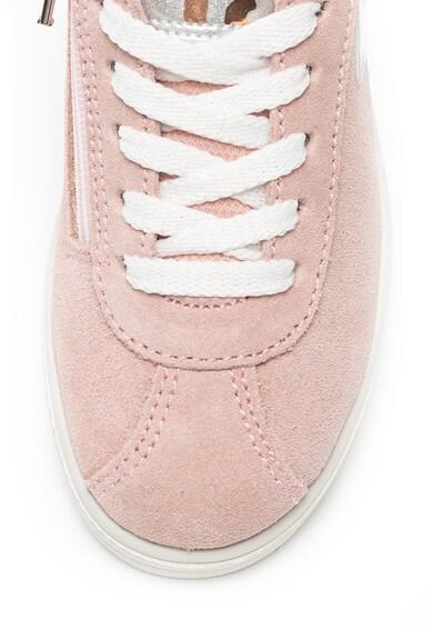Primigi Велурени спортни обувки с цип Момичета