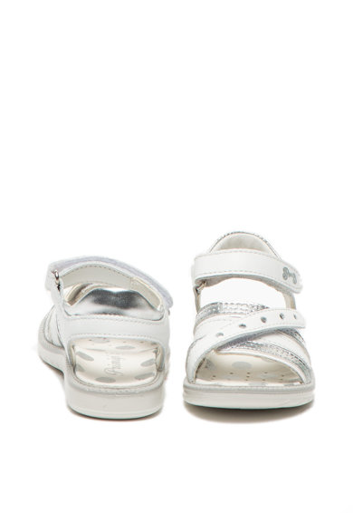 Primigi Кожени сандали с детайли с метален ефект Момичета