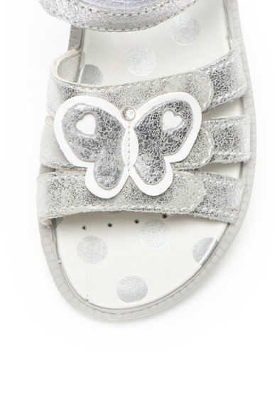Primigi Велурени сандали с бляскав ефект Момичета