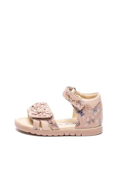 Primigi Кожени сандали с велкро Момичета