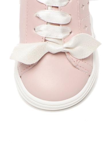 Primigi Кожени спортни обувки с мемори пяна Момичета