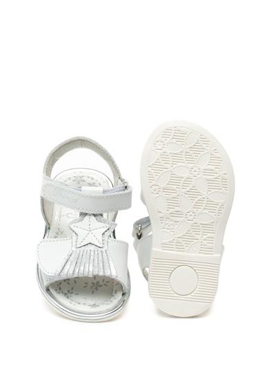 Primigi Sandale de piele cu detaliu franjurat Fete