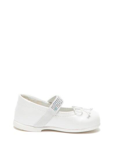 Primigi Pantofi Mary Jane de piele cu aplicatii de strasuri Fete
