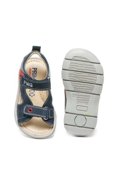 Primigi Sandale cu velcro si garnituri de piele intoasa Baieti