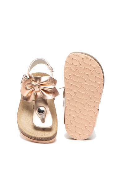 Primigi Sandale de piele ecologica cu bareta separatoare Fete