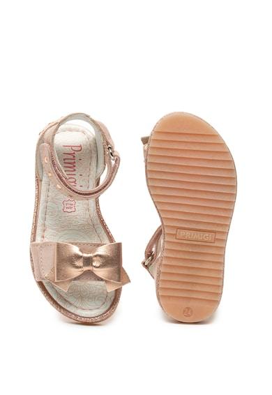 Primigi Sandale de piele si piele intoarsa Fete