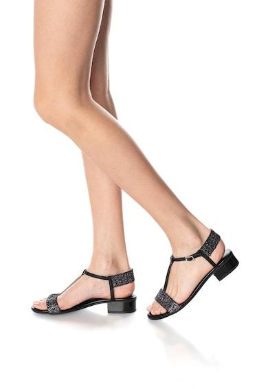 Zee Lane Sandale de piele cu toc masiv Femei
