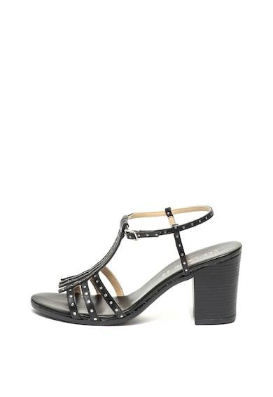 Zee Lane Кожени сандали с масивен ток Жени