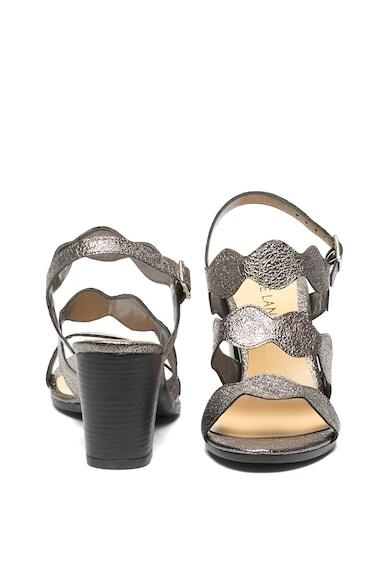 Zee Lane Sandale de piele ecologica cu toc masiv Femei