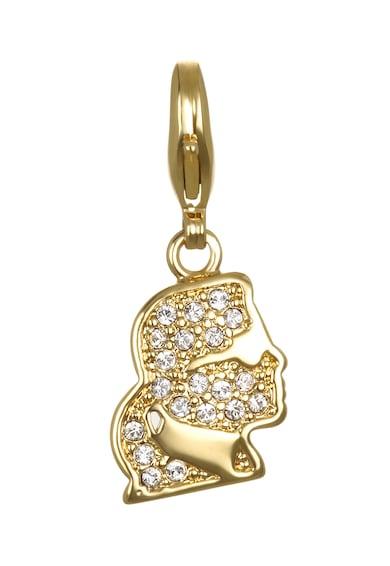 Karl Lagerfeld Kristályokkal díszített medál női