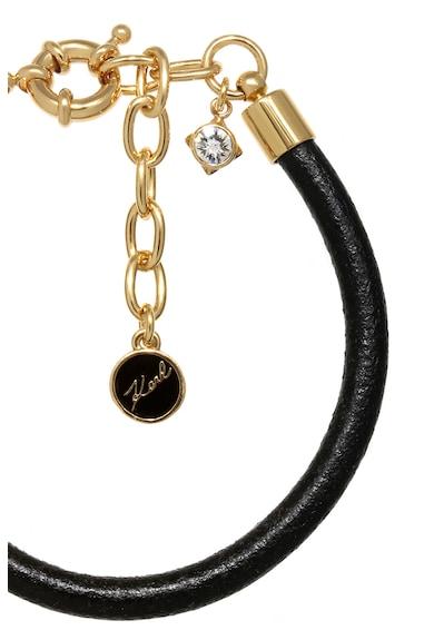 Karl Lagerfeld Kristállyal díszített karkötő női