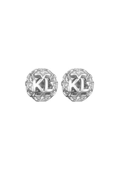 Karl Lagerfeld Bedugós fülbevaló Swarovski kristályokkal női