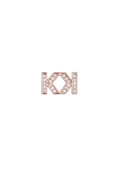Karl Lagerfeld 12 karátos vörösarannyal bevont fülbevaló Swarovski kristályokkal női