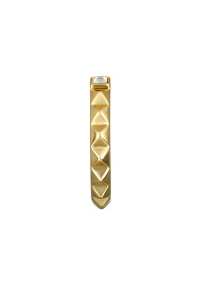 Karl Lagerfeld Arannyal bevont fülbevaló Swarovski kristályokkal női