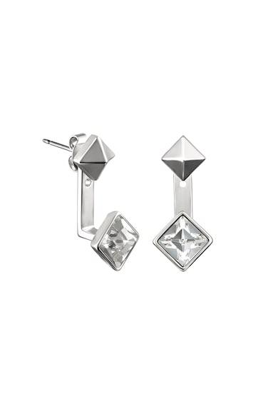 Karl Lagerfeld Swarovski kristályos bedugós fülbevaló női