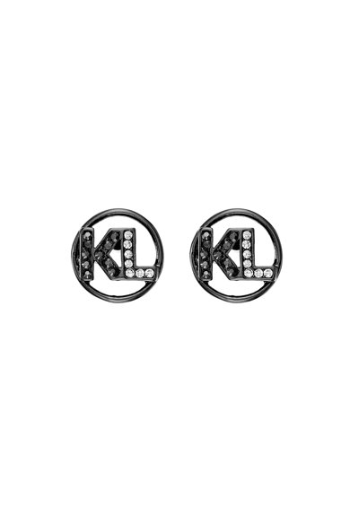 Karl Lagerfeld Fülbevaló Swarovski® kristályokkal női