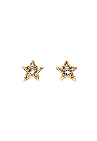 Karl Lagerfeld 12 karátos arannyal bevont csillag alakú fülbevaló Swarovski® kristályokkal női
