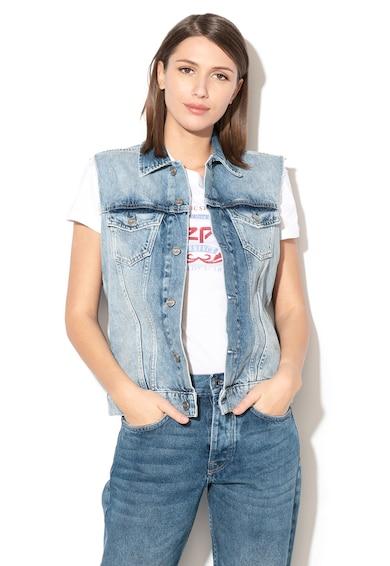 Pepe Jeans London Vesta din denim Maria Femei