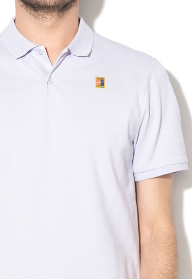 Nike Tricou polo cu aplicatie logo, pentru tenis Heritage Barbati