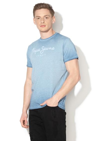 Pepe Jeans London Tricou regular fit cu aspect decolorat West Barbati