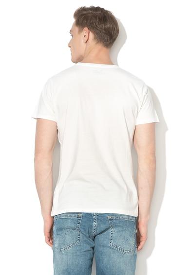 Pepe Jeans London Tricou regular fit cu imprimeu logo Flag Barbati