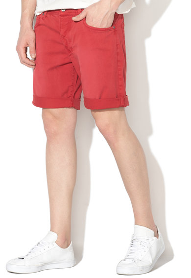 Pepe Jeans London Pantaloni scurti cu talie joasa si croiala dreapta Cane Barbati
