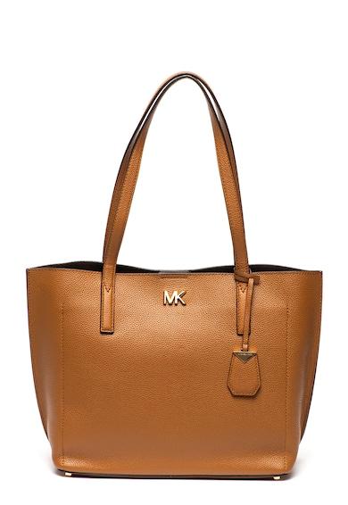 Michael Kors Кожена шопинг чанта Ana с метално лого Жени