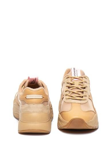 Scotch & Soda Pantofi sport cu garnituri de piele si piele intoarsa Celeste Femei