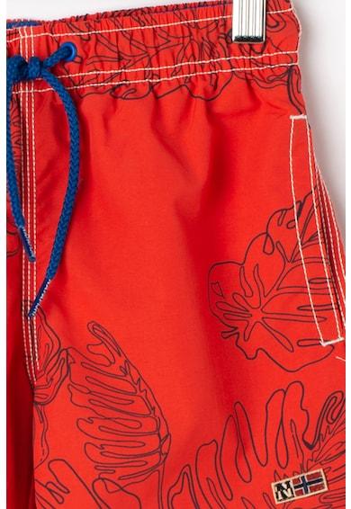 Napapijri Pantaloni scurti de baie cu model cu frunze Vail Baieti