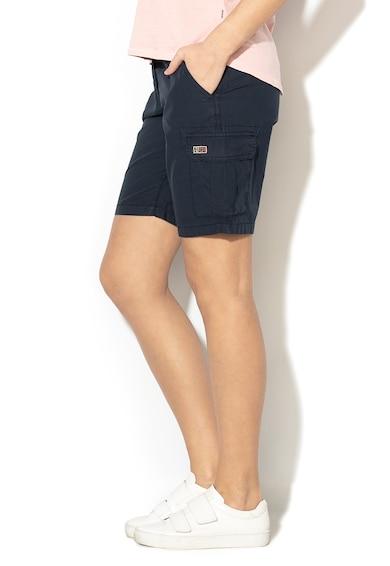Napapijri Pantaloni scurti cargo cu talie ajustabila Norwalk Femei