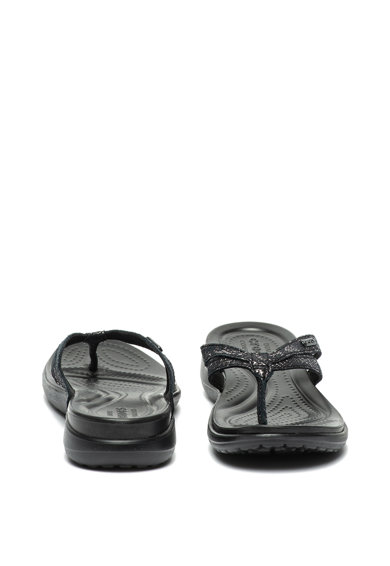 Crocs Capri pántos bőr flip-flop papucs női