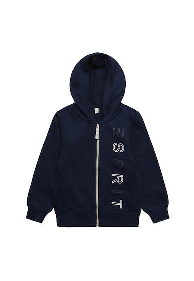 Esprit Cipzáros kapucnis pulóver logómintával Fiú
