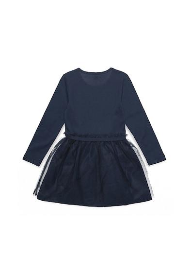 Esprit Bővülő fazonú ruha hálós és flitteres részletekkel Lány