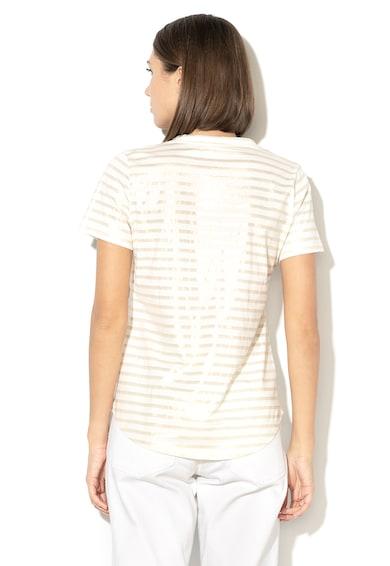 Banana Republic Csíkos póló fémes részletekkel női