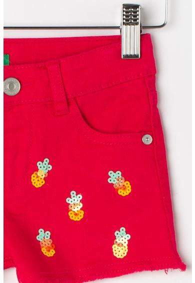 United Colors of Benetton Pantaloni scurti de denim cu paiete Fete