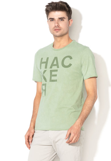 United Colors of Benetton Tricou cu imprimeu text Barbati