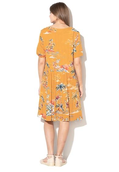 United Colors of Benetton Rochie cu croiala in A si imprimeu floral Femei