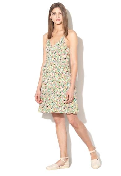 United Colors of Benetton Rochie mini cu model floral Femei