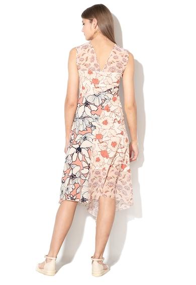 Sisley Rochie cu croiala in A si imprimeu floral Femei