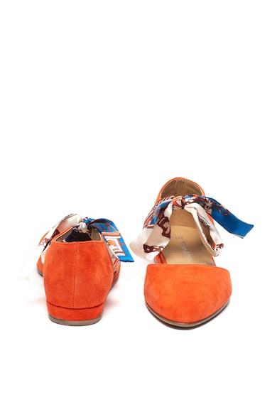 Tamaris Pantofi slip on de piele intoarsa cu panglici Femei