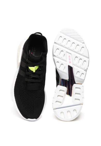 Adidas ORIGINALS Pantofi sport cu aspect tricotat si detaliu irizat POD S-3.1 Barbati