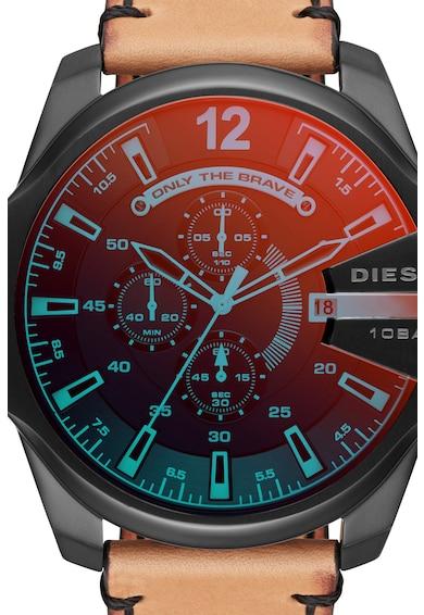Diesel Ceas cronograf cu o curea de piele Barbati