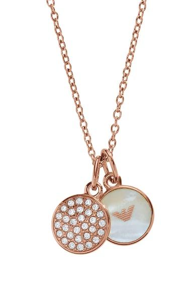 Emporio Armani Acélnyaklánc két amulettel női