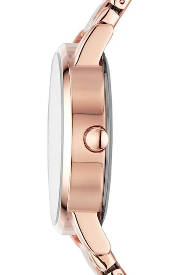 DKNY Ceas quartz cu logo stralucitor pe cadran Femei