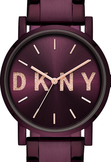 DKNY Ceas cu bratara metalica Femei