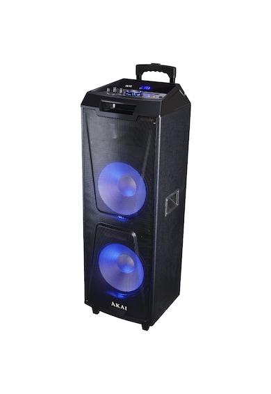 AKAI Boxa portabila   cu BT, lumini disco, functie inregistrare, microfon Femei